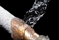 Image Frozen Water Pipe Repair